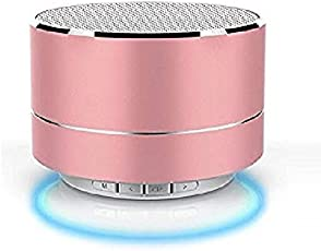 Teconica H10 Stereo Super Bass Portable Bluetooth Speaker with Built-in Mic, TF Micro SD Card Support for All Smartphone (Random Colour)