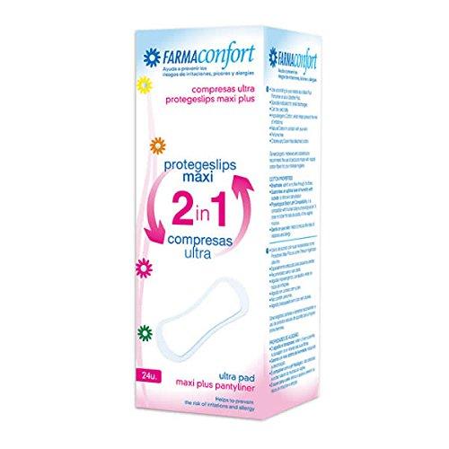 FarmaConfort Protegeslips Maxi 2in1 Compresa Ultra