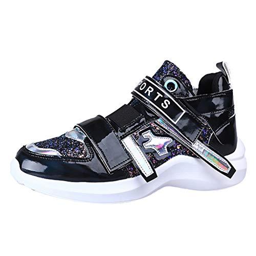 Scarpe da Pallacanestro da Donna Scarpe Casual Sneakers Colorate a Tendenza Femminile Scarpe da Discoteca Paillettes Selvagge Scarpe Casual Scarpe da Ginnastica Oxford Sneakers da Corsa