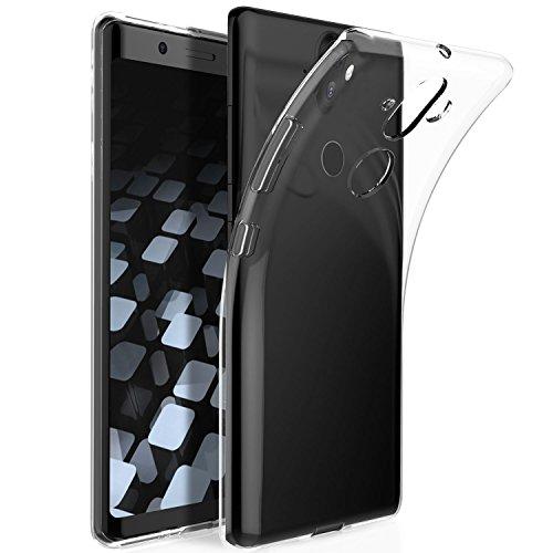 KUGI Nokia 8 Sirocco Hülle, Kratzfeste Hülle Nokia 8 Sirocco Schutzhülle Soft TPU Case Ultradünn Cover [Slim-Fit] [Anti-Scratch] [Shock Absorption] für Nokia 8 Sirocco Smartphone. Klar