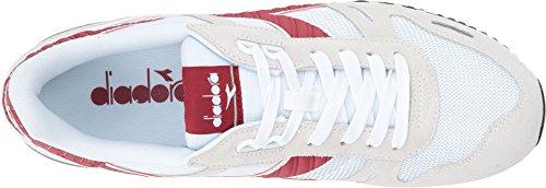 Diadora Herren Skateboardschuhe White / Garnet-red