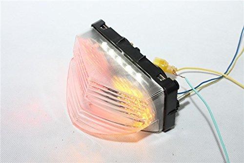 Preisvergleich Produktbild HTT Motorrad Schwanz Bremslicht Blinker LED klar für 2001 2002 2003 HONDA CBR 600 F4i CBR600 F (600 FS