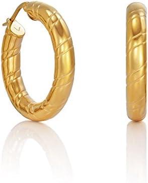 Pendientes de aro en acero de Viceroy Fashion 6421E11012