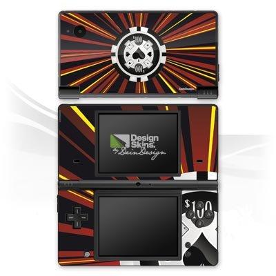 Nintendo Dsi-chip (Nintendo DSi Case Skin Sticker aus Vinyl-Folie Aufkleber Pik Poker Chip)