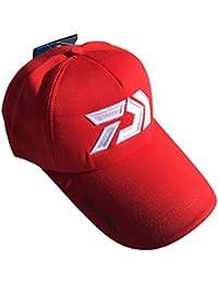 Amazon.es  Varios Varios - Rojo   Gorro de pescador   Sombreros y ... 6cf19173d59