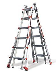 Little Giant 6 Rung Revolution XE | Aluminium Multi-Purpose Ladders, Model 26 | Little Giant Ladder System Inc. Lifetime Warranty