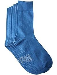 Weri Spezials Hommes Chaussettes x3 Bleu Fonce