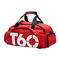 Mixed Duffle Bag For Unisex,Red - Fashion Duffle Bags