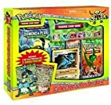 pokemon Collector's Poster Box / Display  mit 1 x Pokemon Starter + 3 Pkemon Booster + 1  Lucario Holo-Karte und Poster (english )