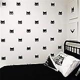 pegatina de pared 3d Batman etiqueta de la pared pegatina héroe Batman máscara etiquetas de la pared calcomanías DIY Baby Nursery dormitorio decoración del hogar arte vinilo Mural Wallpaper