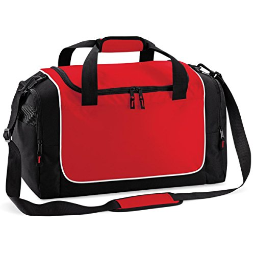 Quadra Teamwear Schließfach Tasche Classic Red/Black/White