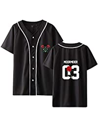 SISAY Payton Moormeier Camiseta Baseball Manga Corta Unisex A15171JK02