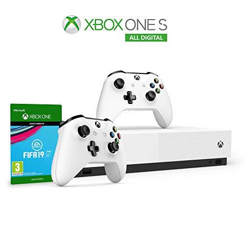 Xbox One S 1 TB All Digital bundle