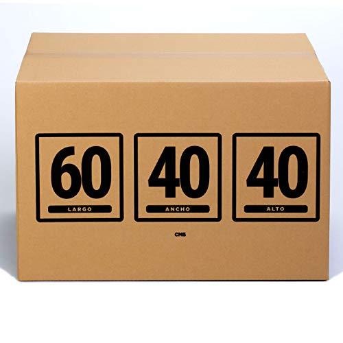 TeleCajas | 10x Cajas Cartón 60x40x40 cms | Una Onda