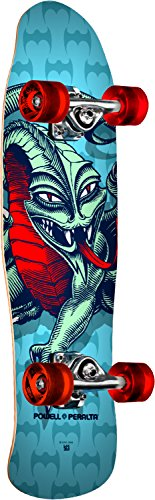 powell-peralta Mini Cab Dragon II 07komplett Skateboard, Schwarz (Powell Schweizer)