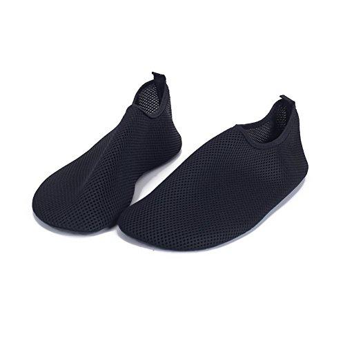 Erwachsene Tauchen Schuhe Yoga Laufband Schuhe Waten Schuhe Schwimmen Schuhe Net Schuhe Schwarz