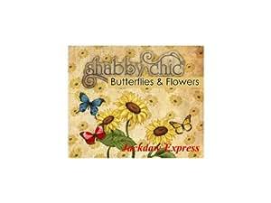 Debbi Moore Designs Shabby Chic Butterflies & Flowers CD Rom (293596)