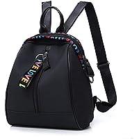 S.CHARMA Mochila para portátil mochila con bolsa para computadora portátil de 15.6 pulgadas Mochila de negocios Lona de algodón para damas y hombres de alta calidad Mochila retro casual