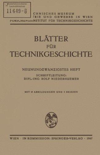 Blätter für Technikgeschichte