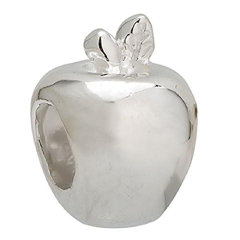 Argent sterling 925Apple Perle charm Pandora