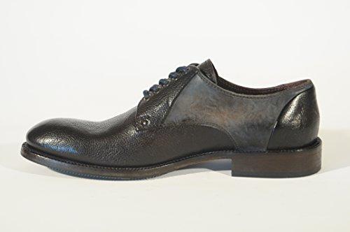 Calzaturificio Lorenzi S.a.s.  7952, Chaussures de ville à lacets pour homme - marron Marrone (T.Moro)