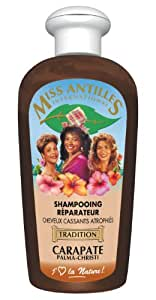 Shampoing Réparateur à la Carapate Cheveux Cassants Atrophiés 250ml
