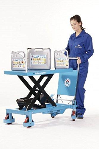 Scherenhubtischwagen manuell,Hydraulikpumpe,PU-Rollen,Tragfähigkeit: 500kg