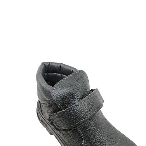 PSH berufsschuhe businessschuhe chaussures de sécurité s1P chaussures de trekking (noir) Noir - Noir