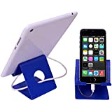 Mobile Stand (For All Smart Phones And Tablets) Blue