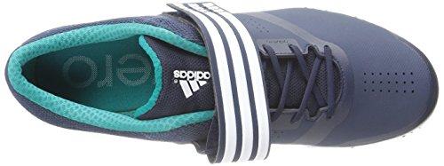 Adidas Performance unisexe Adizero Hj Running Shoe Avec Spikes Collegiate Navy/White/Green