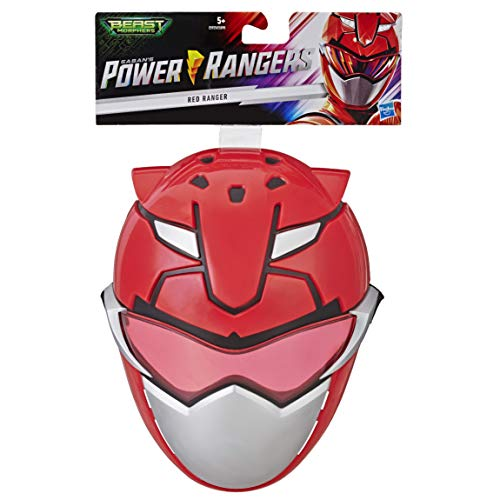Power Rangers E5925ES0 Beast Morphers Roter Ranger, Maske für Rollenspiele (Sein Und Ihrs Halloween-kostüme 2019)