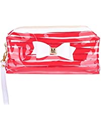 Portátil transparente PVC neceser bolsa de viaje neceser cosméticos bolso impermeable para las niñas
