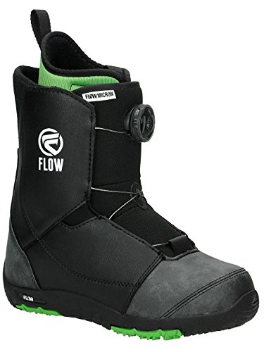 Flow Kinder Snowboard Boot Micron Boa Youth Black Kinder Snowboard-boots