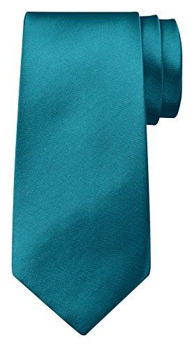 BomGuard Krawatte für Herren türkis I Männer Krawatte schwarz,rotetc. für Hochzeit, Party oder edele Anlässe I Trendy Tie I