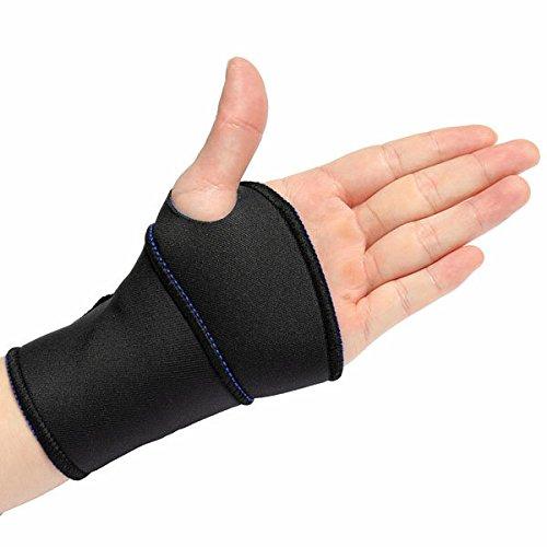 Neopren-klammer (Bazaar Neopren Silikon Handgelenk Klammer Stütz Bügel Verband Wrap)