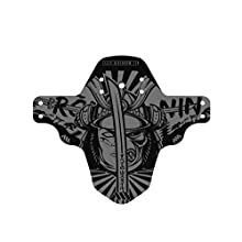All Mountain Style Unisex's AMSMG1ROGY Front Mudguard – Protects you and your bike from waste and dirt, Roning/Grey, One size
