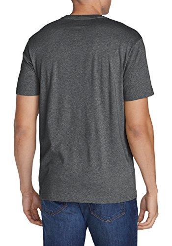Eddie Bauer Herren T-Shirt 332282 Mittelgrau meliert