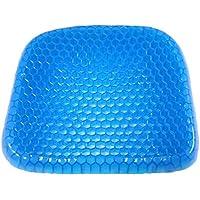 Preisvergleich für Bright Love Schmerzlinderung Sitzkissen Atmungsaktiver Stütz Sitz Absorbiert Druckpunkte Für Schwanzknochen Und Rückenschmerzen Waben Design Passt Zu Allen