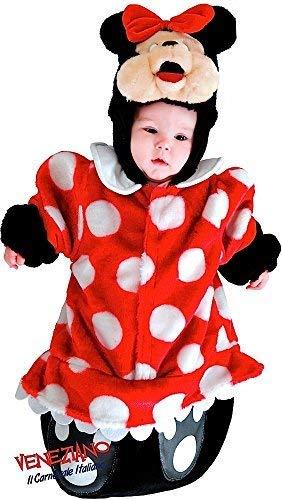 Italienische Herstellung Baby Mädchen Cartoon Maus Schlafsack Sack Halloween Büchertag Kostüm Kleid Outfit 0-3 Monate
