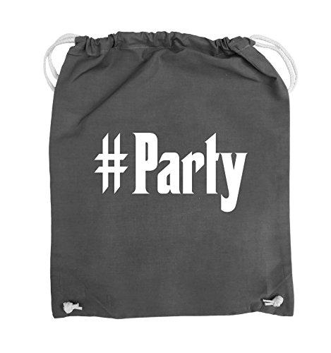Borse Comedy - #party - Bag - 37x46cm - Colore: Nero / Argento Grigio Scuro / Bianco