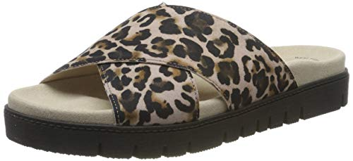 Gabor Shoes Damen Jollys Pantoletten, Mehrfarbig (Antikrosa 34), 39 EU