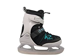K2 Juno Ice Patins à glace pour fille Multicolore White/Black/Turquoise 29-34