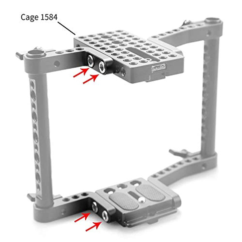 SMALLRIG 15mm Rod Clamp de Fixation pour 15 mm Rod pour Camera Accessoire 1549