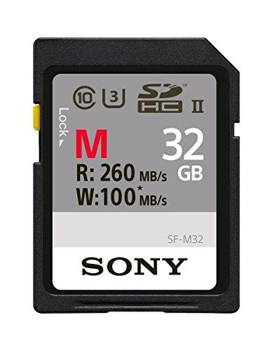 Sony SDHC-Speicherkarte, 4 GB Schwarz 32 GB