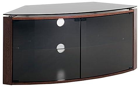 Techlink b6do Banc d'angle chêne foncé Plus Support pour TV jusqu'à 55-inch-inch