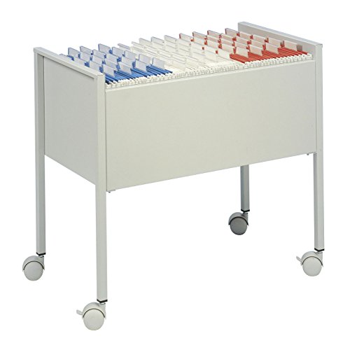 Durable 309710 - Carrito archivadores capacidad 80
