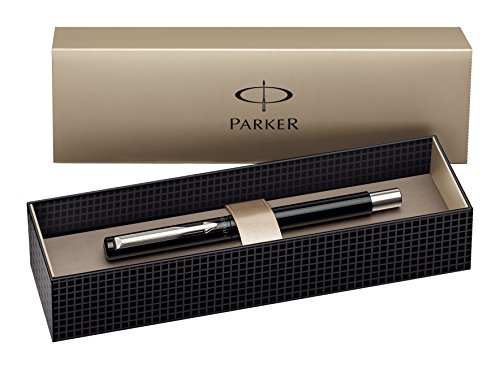 Parker S0705330 Penna Stilografica Vector in Scatola Regalo, Nero