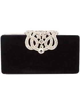 BAIGIO Frauen Mädchen Weichen Leder Lange Geldbeutel Fashion Brieftasche