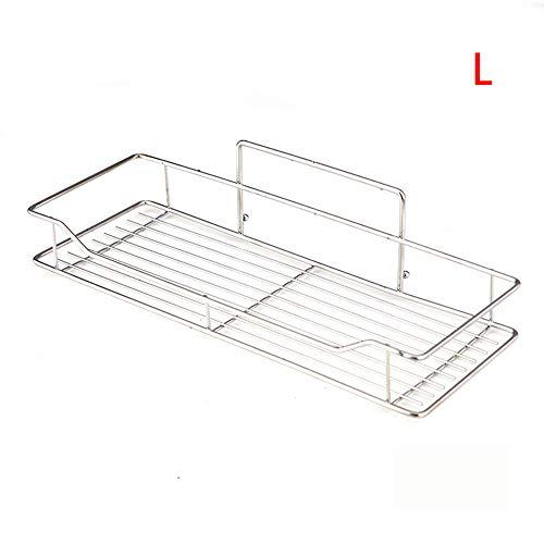 chen sen lin1 Edelstahl-Badezimmer-Regal-freie perforierte Küchen-Badezimmer-Speicher-Zahnstange Toiletten-Wandhalterung -