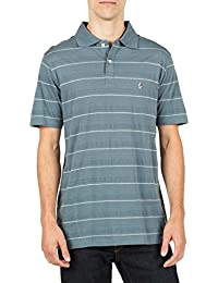 Volcom Polo Polo à manches T-shirt Homme Gris